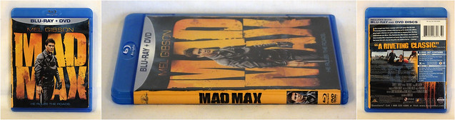 MAD MAX MGM Blu-ray/DVD combo pack