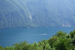 Lago di Lugano (sandorson) Tags: travel schweiz switzerland ticino suisse suiza svizzera lugano lakelugano lagodilugano luganersee montebr  svjc lacdelugano  sandorson   luganit