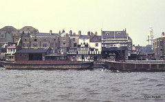 River Thames 1970's (colinfpickett) Tags: old water thames river boat barges