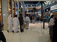 At Dubai Mall you can go on a shopping frenzy.