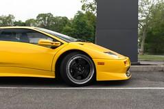 Diablo SV! (akahn177) Tags: newyork classic yellow nikon raw low 1999 stick mean diablo rims lamborghini rare sv horsepower 530 incognito superfast nodecals superveloce carvision 201mph
