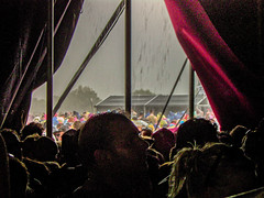 We  All Want To Hide In A Tent (Heavy rain outside)