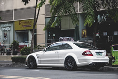 Mercedes-Benz CLK 63 AMG Black Series (Justin Young Photography) Tags: cars philippines mercedesbenz amg blackseries clk63