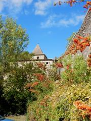 Saint-Polycarpe - Abbaye et aqueduc (Fontaines de Rome) Tags: aude saintpolycarpe saint polycarpe aqueduc abbaye