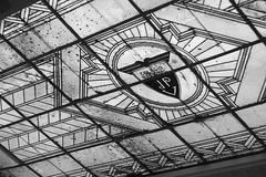 Jos Pedro Varela Vitraux (Alvimann) Tags: alvimann building edificio vitraux vidrio glass cristal logo logotype logotipo type types letras letra linea lines line lineas classic clasico clasica old viejo antique