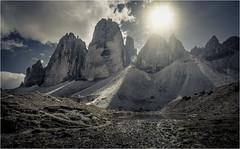 Tre Cime (derScheuch) Tags: trecime tirol dolomiten berg dreizinnen