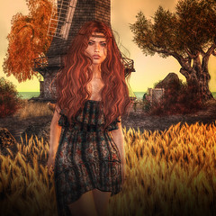 shine by [ZD] LIVIE BOHO DRESS (Cecilia Blachere) Tags: shine livie boho dress tbcf 2016 the culture fair by zd