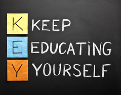 Keep-educating-yourself-acronym (bruceslayton) Tags: blackboard black board chalkboard chalk word letter text handwriting writing white yellow orange blue acronym horizontal stickynote adhesivenote paper nobody keep educating yourself education learning teaching training wisdom skill coach expertise instructions development competencies knowledge motivation concept conceptual