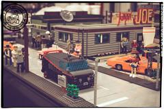 Seen at the Skaerbaek Fan Weekend - 006 (Priovit70) Tags: lego moc miniland vehicles diorama afol skaerbaekfanweekend 2016 event ateam olympuspenepl7