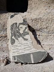 Fragment of a mosaic (markhorrell) Tags: rome romanantiquities baths caracalla
