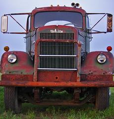 Not So White (racerx6948) Tags: trucks truck semitruck white pentax rusty