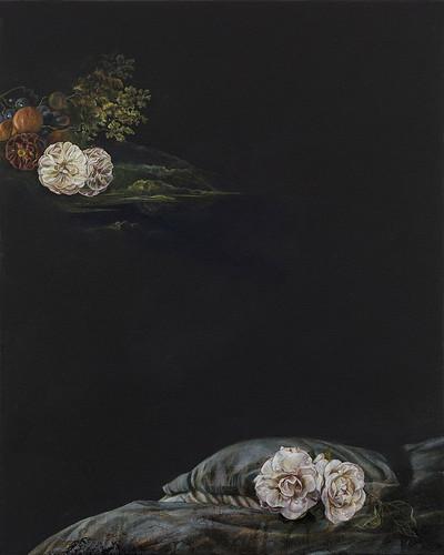 Emma Bennett 'A Plentiful Solitude', 2016 Oil on canvas 50x40cm
