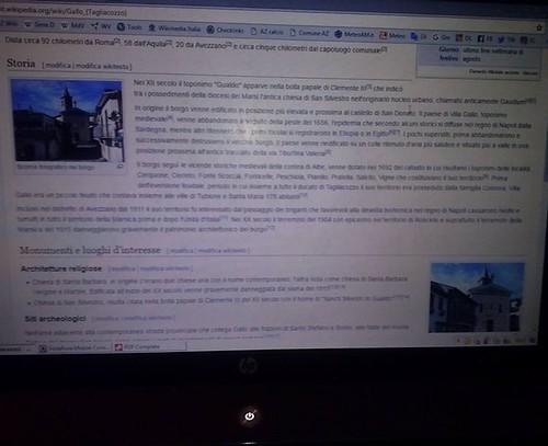 #gallo #gallum di tagliacozzo #marsica fatta la pagina eccola:-))