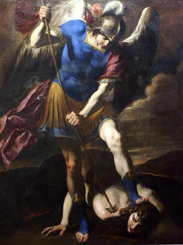 Antonio de Bellis, Der Erzengel Michael besiegt Satan (Archangel Michael defeats Satan)