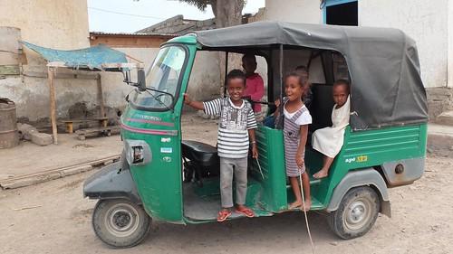 Djibouti_2014 - Enfants à Tadjourah
