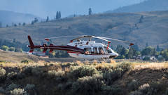 C-FAVY - Valley Helicopters - Bell 407 (bcavpics) Tags: cfavy valleyhelicopters bell 407 aviation aircraft helicopter chopper heli cad5 merritt britishcolumbia canada bcpics
