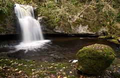 Hidden Dentdale (DrupkaTheUnclear) Tags: northyorkshire uk waterfall winter november longexposure motionblur green moss peat eroded limestone flow yorkshiredalesnationalpark deepdale