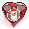 red santa ornaments 2016 (playsculptlive) Tags: pcagoe polymerclay xmasornament