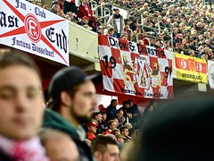 Dick & Durstig (mr.timebird) Tags: fortuna football fans fusball stadion flag fahne supporter sport sports nikon 50mm