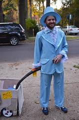 Dressing Up For Halloween (Joe Shlabotnik) Tags: 2016 tuxedo tux powderblue october2016 costume halloween afsdxvrzoomnikkor18105mmf3556ged