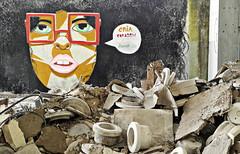 Coimbra 2016 - Sociedade de Porcelanas 03 (Markus Lske) Tags: portugal coimbra sociedadedeporcelanas art arte kunst graffiti graffito bild streetart urbanart urban street strase lueske lske