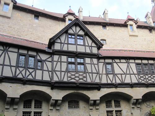 Fachwerk Burg Kreuzenstein