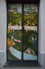 Valloria (135) (Pier Romano) Tags: valloria porte porta dipinta dipinte door doors painted imperia liguria italia italy nikon d5100 paese town dolcedo artisti pittori