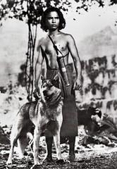 Sabu in Jungle Book (1942) (Truus, Bob & Jan too!) Tags: sabu british indian filmstar european asian cute film cine kino cinema star screen picture movie movies filmster vintage collectors card carte tarjet sammelkarte verzamelkaart künosfilmfoto sparkasse junglebook 1942 mowgli wolf animals
