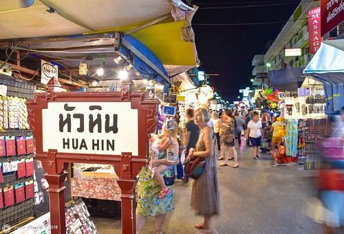 Hua Hin Night Market, Hua Hin, Thailand