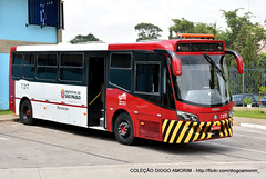 7 217 (American Bus Pics) Tags: sopaulo sptrans volvo b340m b12m maintence sos apoio nibussocorro manuteno