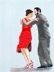 Tango: Abrazo Del Mar (Pat McDonald) Tags: peterforret andaluca andalus argentina artrage bailaora bailaoras bailar bale ballerina ballet ballo buenosaires danse dans dance gitana gitano guapa guapsima guitarist portea porteo thenetherlands tango spain blankenberge belgium