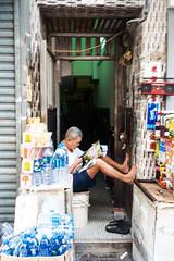 Alleyway Shop (Taomeister) Tags: fujicolorindustrial100 gyoumuyou ricohgr1v 業務用100 fujifilmindustrialarchivalprint100 2828