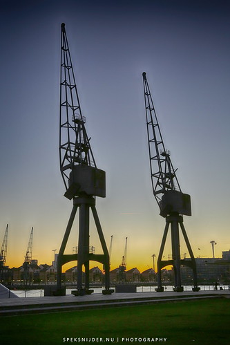 Docklands Cranes London ExCel