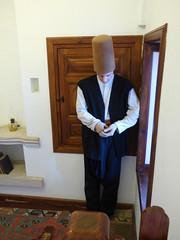 Konya - Mevlana Turbesi, museum, cell reconstruction (2) (damiandude) Tags: rumi dervish sufi
