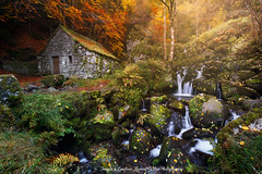 RustiK (mvdc0w) Tags: auvergne cantal chambeuil water mill light paysage laurent bastide landscape fall autumn flickrtravelaward