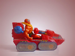 Attak Trak Master of the Universe (zeploctoys) Tags: actionfigures heman figures figurasdeaccion juguete mattel motu vintage series toys masteroftheuniverse vehicle toy eternia attaktrak beastman