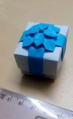 Fujimoto's Hydrangea box-  small (mimansaorigami) Tags: origami symmetry hydrangea boxes fujimoto fractals
