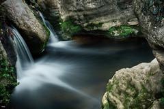 La Balsita (candi...) Tags: rocas rio agua saltodeagua balsa naturaleza sonya77 santfelíudelracó