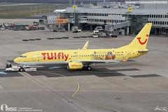 D-AHFT (dabianco87) Tags: aeroplano aircraft aerei plane dusseldorf dus b737800 boeing tui tuifly dahft