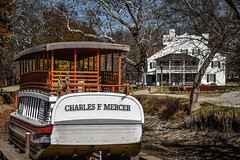 Canal Boat Charles F Mercer and Great Falls Tavern Visitor Center - C&O Canal National Park - Great Falls MD (mbell1975) Tags: potomac maryland unitedstates us canal boat charles f mercer great falls tavern visitor center co national park md parc greatfalls chesapeake ohio chesapeakeandohiocanal vessel canalboat visitors visitorcenter bar usa american america
