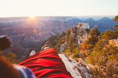 Taking in the sunrise from the North Rim (jonathonreed) Tags: grandcanyonnationalpark grandcanyon nationalpark arizona desert canyon sunrise landscape photography vsco vscofilm vscofilm05 travel adventure wilderness nature northrim