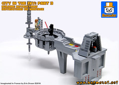 City in the Sky Instructions part 3 (baronsat) Tags: lego bespin cloud city instructions for sale custom model moc