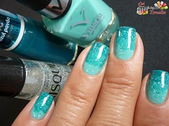 Verde-gradiente-ombr nails (DriEsmaltes) Tags: