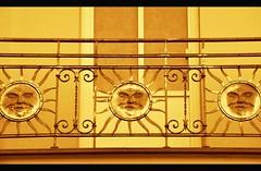 sun (mopskotze) Tags: summer sun sunlight construction steel balcony warmth shg shg68 scavengerhuntergatherer
