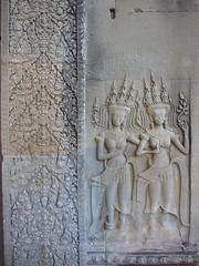 Carving at Angkor Wat