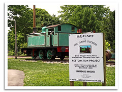Save the Duchess (bogray) Tags: train ky locomotive steamengine lagrange tankengine 060t robertstephensonhawthorns flyingduchess meaford2