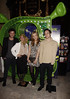 Becky Hill, Toni Warne, Aleks Josh, David Julien 'Shrek The Musical' first anniversary performance held at Theatre Royal - Inside London, England
