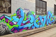 Toronto Graffiti 2012 7479 (sniderscion) Tags: street urban toronto ontario canada color colour art scott graffiti intense nikon paint bright vivid canadian spray vandalism tamron rc f28 gh snider kas looter 1750mm tamronspaf1750mmf28 sniderscion d7000