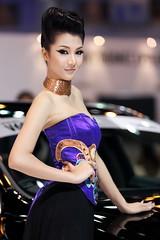 IG9C3541s (tony8888) Tags: show sexy beautiful car race thailand model pretty bangkok queen impact thai motor 2012