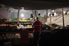 Puebla -7639 (Jacobo Zanella) Tags: cuetzalan sierranorte puebla mexican town travel mexico 2012 jacobozanella market marketplace settingup night light stall vendor fruit fresh produce selling local tent jz76